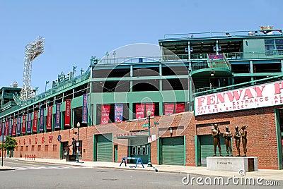 Fenway Park, Boston, MA Editorial Stock Photo