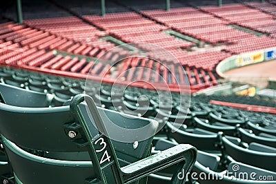 Fenway Park in Boston, MA Editorial Stock Image