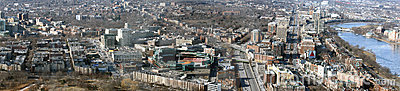 Fenway Park Boston Panoramic Editorial Photography
