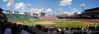 Fenway Park, Panorama Editorial Photo