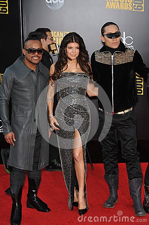 Black Eyed Peas,Black-Eyed Peas,Fergie Editorial Stock Image