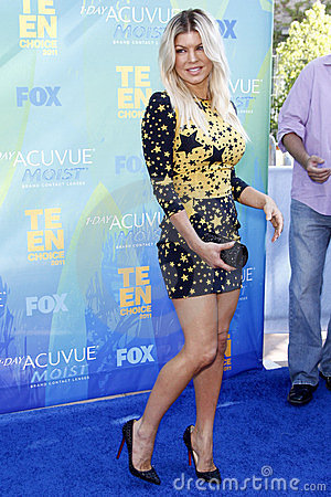 Fergie, Stacy Ferguson Editorial Stock Photo