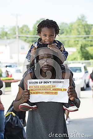 Free Ferguson Protests Stock Image - 43581591