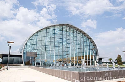 Feria Valencia Event Center Editorial Stock Photo