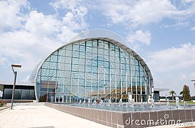 Feria Valencia Event Center Editorial Stock Photo