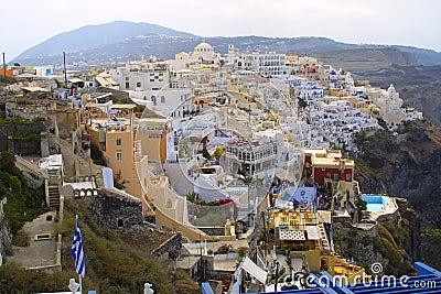 Feriado feliz em greece