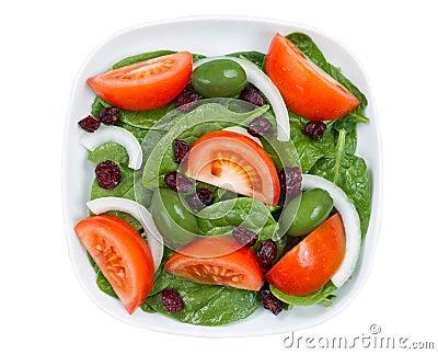 Fermez vous vers le haut de la vue sup rieure de la salade for Vers de salade