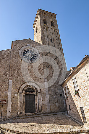 Fermo - Historic church