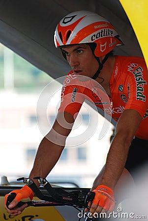 Fernandez Koldo - Tour de France 2009 Editorial Image