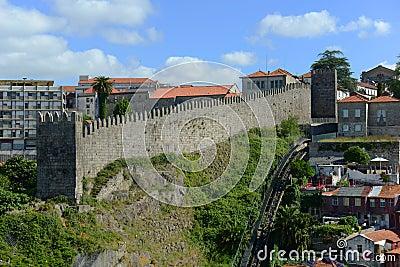 Fernandina Wall, Porto, Portugal