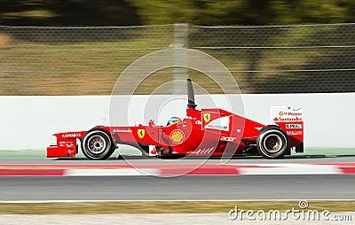 Fernando Alonso racing Editorial Photography