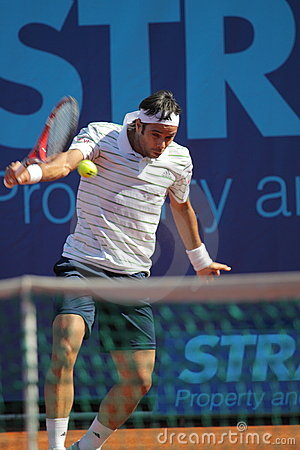 Fernando Gonzales backhand Editorial Stock Image