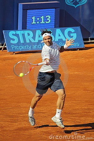 Fernando Gonzales - Prague open 2011 Editorial Photo