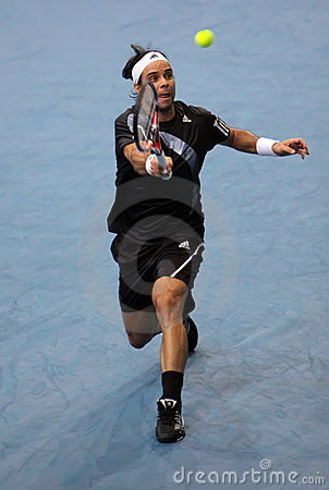 Fernando GONZALEZ (CHI) at BNP Masters 2009 Editorial Stock Photo