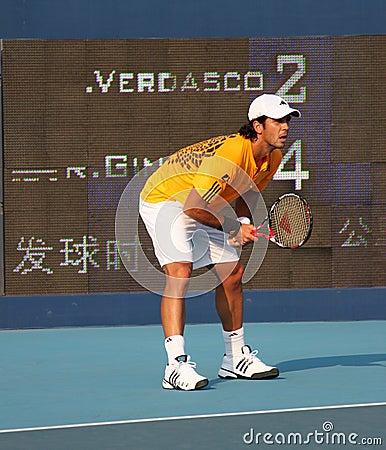 Fernando Verdasco (ESP), tennis player Editorial Photography