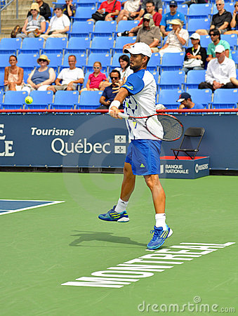 Fernando Verdasco in Montreal 2011 Editorial Photography