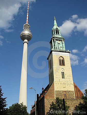 Fernsehturm 8 - Two Towers