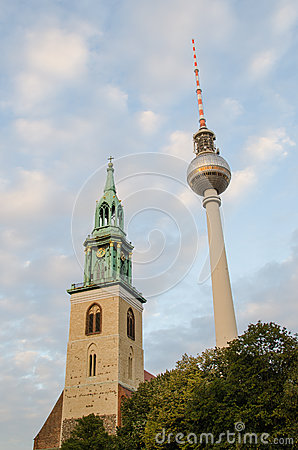 Fernsehturm (Television Tower) Editorial Photography