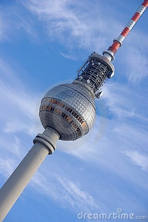 The Fernsehturm (TV Tower) Berlin