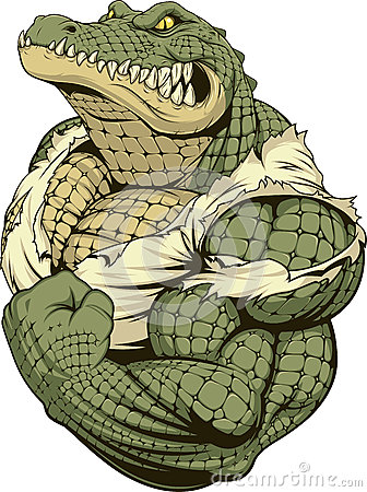 Free Ferocious Strong Crocodile Stock Image - 84357591