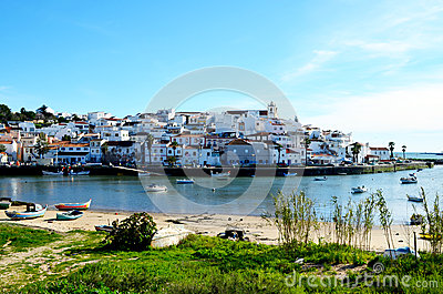 Ferragudo in the algarve