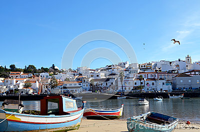 Ferragudo in algarve