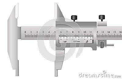 A ferramenta de medição