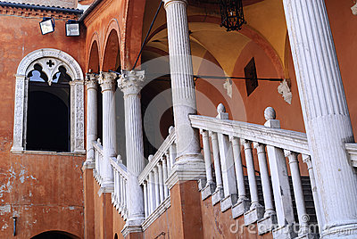 Ferrara - Ancient staircase
