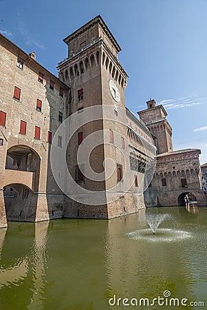 Ferrara - The castle