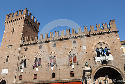 Ferrara - Historic  buildings