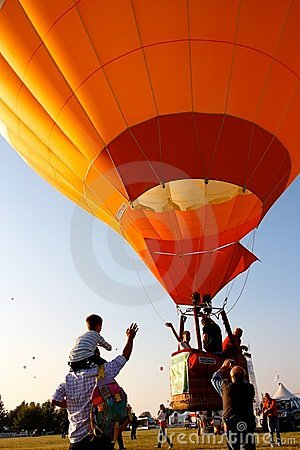 Ferrara Hot Air Balloons Festival 2008 Editorial Stock Photo
