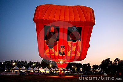 Ferrara Hot Air Balloons Festival 2008 Editorial Stock Image