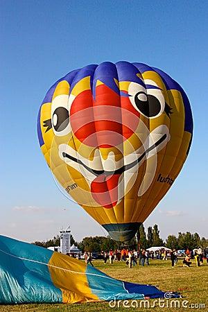 Ferrara Hot Air Balloons Festival 2008 Editorial Image