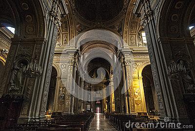 Ferrara - Interior of the Cathedral