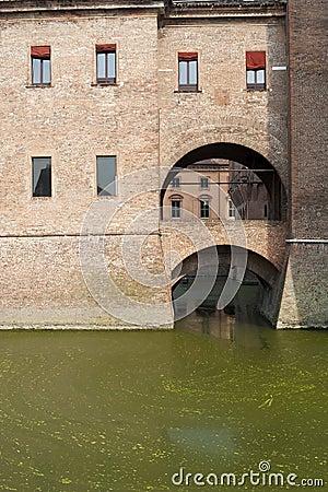 Ferrara, The medieval castle