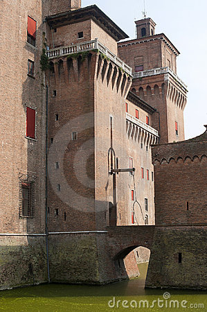 Ferrara - The medieval castle