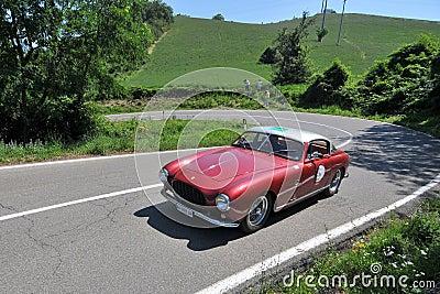 Ferrari 250 GT - 1955 -Vernasca Silver Flag 2011 Editorial Stock Photo
