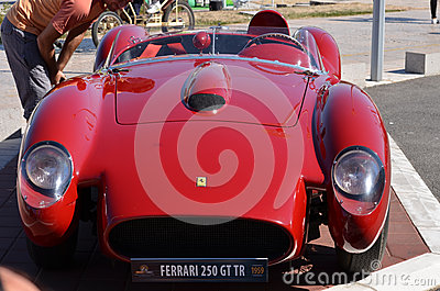 Ferrari Editorial Stock Photo