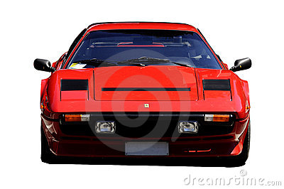 Ferrari 308 Editorial Stock Photo