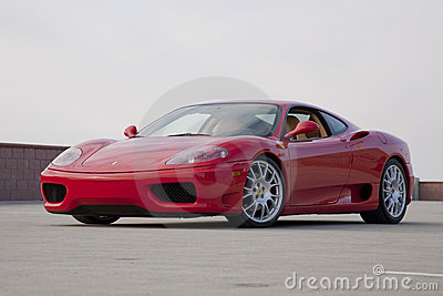 Ferrari 360 Editorial Photo