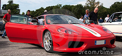 Ferrari 360 Modena Editorial Stock Image