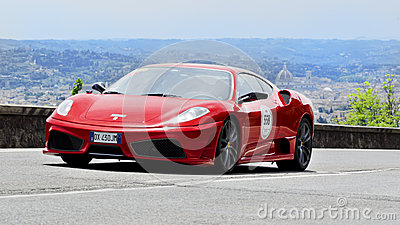 FERRARI 430 Scuderia (2009) Editorial Photography