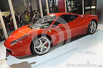 Ferrari 458 Italia Editorial Image