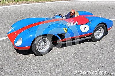 Ferrari 500 TRC 1957 -Vernasca Silver Flag 2011 Editorial Stock Photo