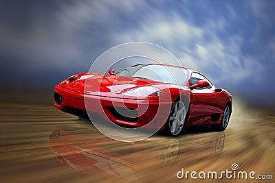Ferrari Editorial Photo