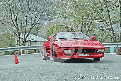Ferrari Editorial Photography