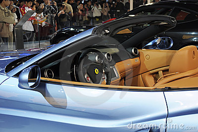 Ferrari California Editorial Photo