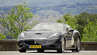 FERRARI California (2009) Editorial Photography