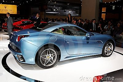 Ferrari California Editorial Image