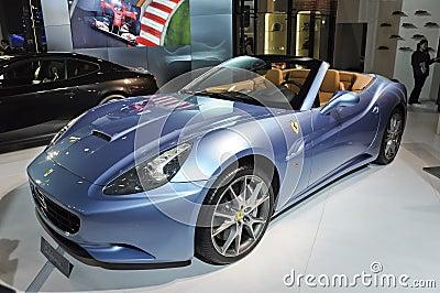 Ferrari Califórnia Foto Editorial